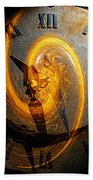 Spiraling Through Time Beach Towel