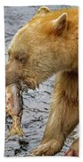 Spirit Bear Take Out  9636 Beach Towel