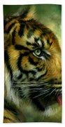 Spirit Of The Tiger Beach Towel