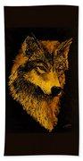 Spirit Wolf Beach Sheet