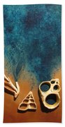 Spirits Of Shells Beach Towel