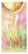 Spirits Of The Sun Beach Towel by Linda Sannuti