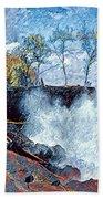 Splash At Mackenzie Beach Towel