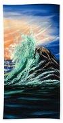 Splash Of Color  Beach Towel