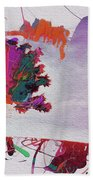 Splash Tree Art  Beach Towel