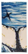 Ocean Tail Beach Towel