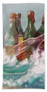 Splattered Wine Beach Sheet