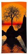 Splintered  Sunlight Beach Towel