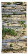 Splinters In The Sand Beach Towel