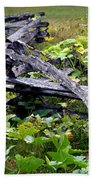 Split Rail Beach Towel