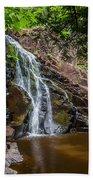 Split Rock Falls Beach Towel