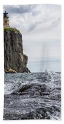 Splitrock Lighthouse 8-4-17 Beach Towel