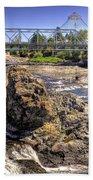 Spokane Falls Beach Towel