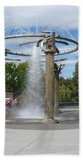 Spokane Fountain Beach Towel