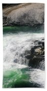 Spokane Water Fall Beach Towel