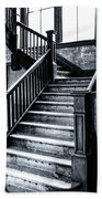 Spooky Grand Staircase Beach Towel