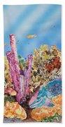 Spotlight Parrotfish Beach Towel