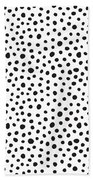 Spots Beach Towel by Rachel Follett