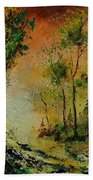 Sprin In Wood 45 Beach Towel