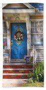 Spring - Door -  A Bit Of Blue  Beach Towel