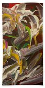 Spring Abstract  -026 Beach Towel
