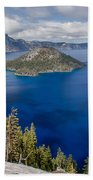 Spring Afternoon From Discovery Point Beach Towel