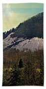 Spring Begins At Glassy Mountain Beach Towel