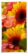 Spring Bouquet 1 Beach Towel