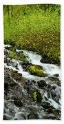 Spring Cascades Beach Towel