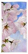 Spring- Cherry Blossom Beach Towel
