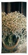 Spring Flower Arrangement Beach Towel