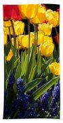 Spring Flowers Square Beach Towel