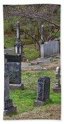Spring In Oak Hill Cemetery #4 Beach Towel