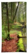 Spring In The Forest Beach Towel
