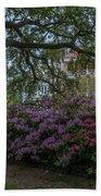 Spring In White Point Gardens Beach Towel
