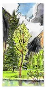 Spring In Yosemite Beach Towel