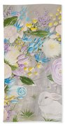 Spring Into Easter Beach Towel