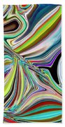Spring Kaleidoscope Beach Towel