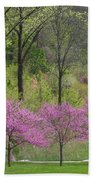 Spring Melody Beach Towel