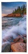 Spring Morning In Acadia National Park Beach Towel