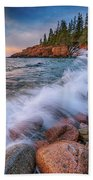 Spring Morning In Acadia National Park Beach Towel