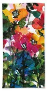 Spring Petals Beach Towel