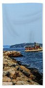 Spring Point Ladge Lighthouse - Maine Beach Towel