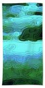 Spring Runoff Beach Towel