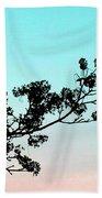 Spring Silhouette Beach Towel