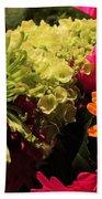 Spring/summer Bouquet - Flowers Beach Towel