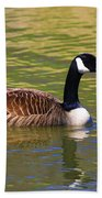 Spring Time Goose Beach Towel
