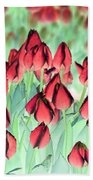Spring Tulips - Photopower 3012 Beach Towel