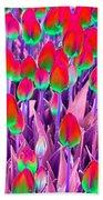 Spring Tulips - Photopower 3112 Beach Towel