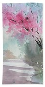 Spring Walk Beach Towel